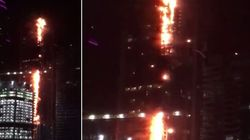 Fire Rips Through Dubai