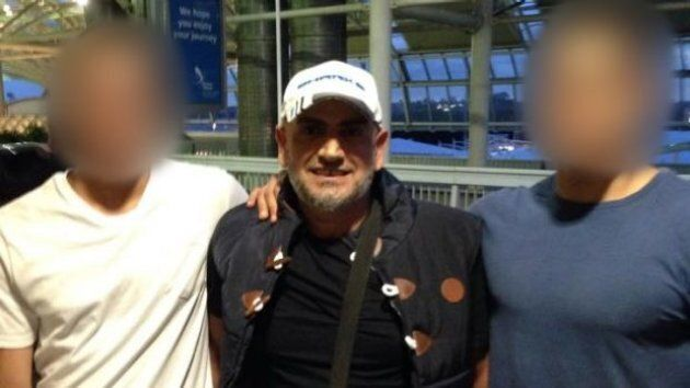 Khaled Khayat at Sydney Airport in 2014. He is one of the men arrested on terror