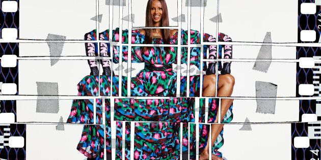 Iman for H&M X