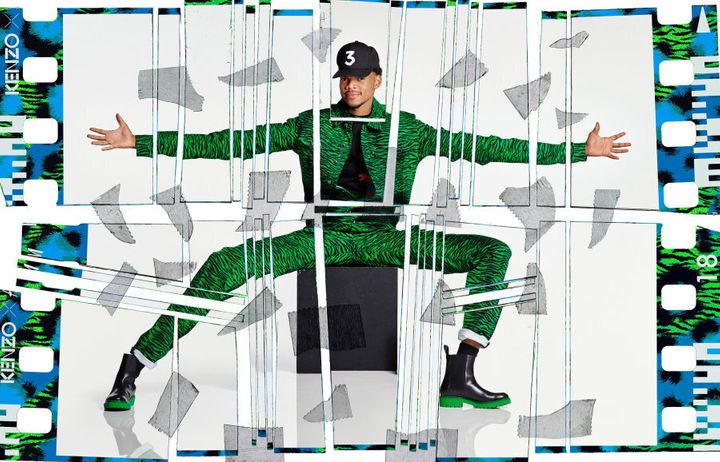 Chance The Rapper for H&M X Kenzo.