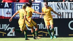 Awesome Matildas Waltz Past Brazil 6-1, Win Tournament Of