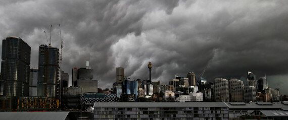 Sydney Storm: 'Everyone Ran To The Bathroom To