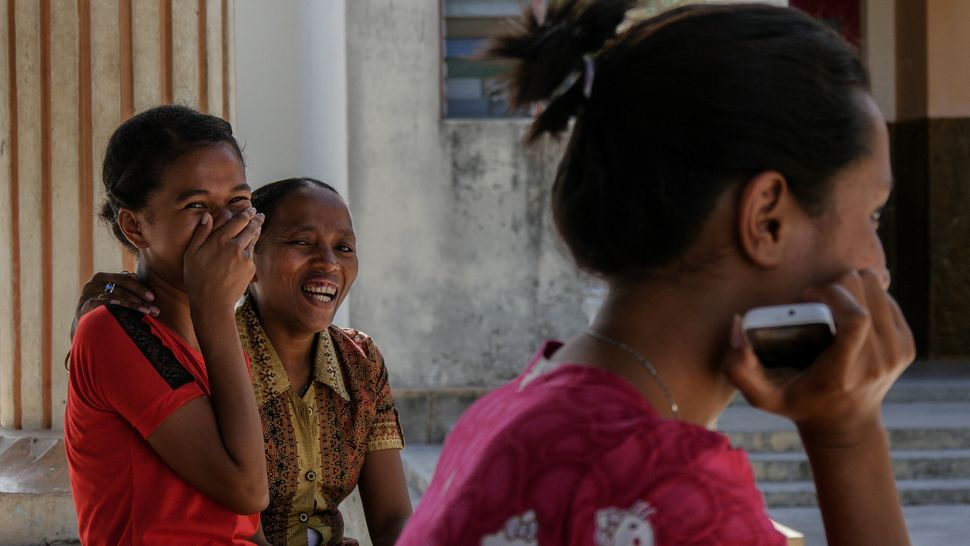 Everywhere you go in Timor the people will meet you with a genuine smile. The joy is infectious. Baucau, Timor-Leste.