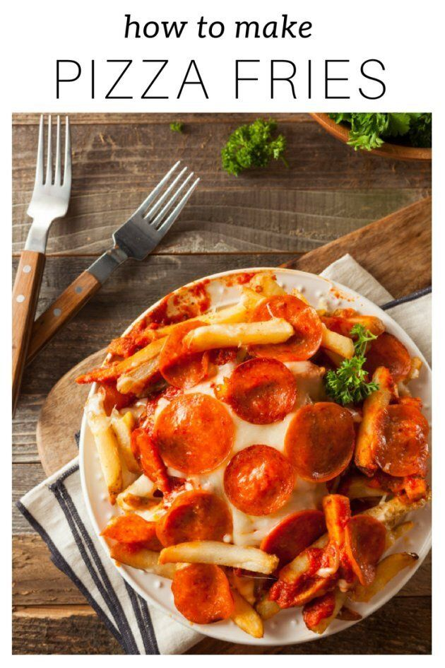 These Cheesy Pizza Fries Are Super Easy To