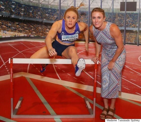 Sally Pearson Hurdles Her Way Into Madame Tussauds