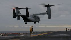 US Marine Corps Osprey Crash: Search For Survivors Called