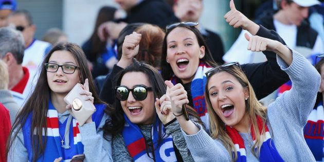 Western Bulldogs fans en-route to Sydney have a great reason to get excited for their