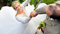 Couple Go To Extreme (And Dangerous) Lengths To Get The Ultimate Wedding