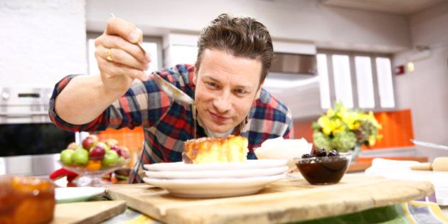 TODAY -- Pictured: Jamie Oliver appears on NBC News' 'Today' show -- (Photo by: Peter Kramer/NBC/NBC...