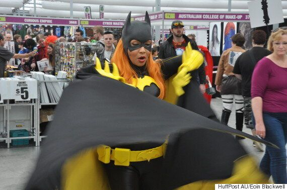 'It's All Love' -- Cosplayers Take To