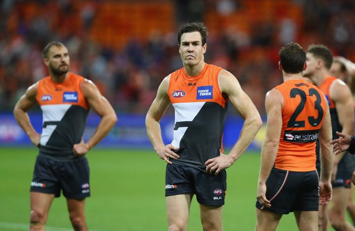 After starring against the Swans two weeks ago, this was not Jeremy Cameron's best night.