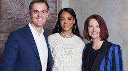 Julia Gillard Hung Out With Rihanna For An Awesome