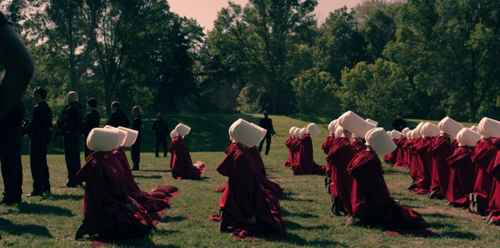 Is anyone else getting Handmaid's Tale vibes?