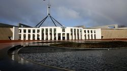 There's A Rainbow Hanging Over Parliament Before Libs Meet On Same-Sex