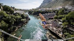 Australian Rhiannan Iffland Leads Women's Cliff Diving World