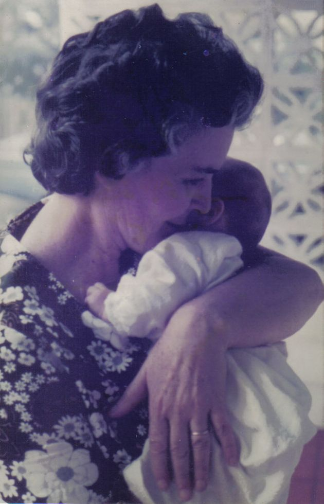 Author Christy Newman as a newborn with her