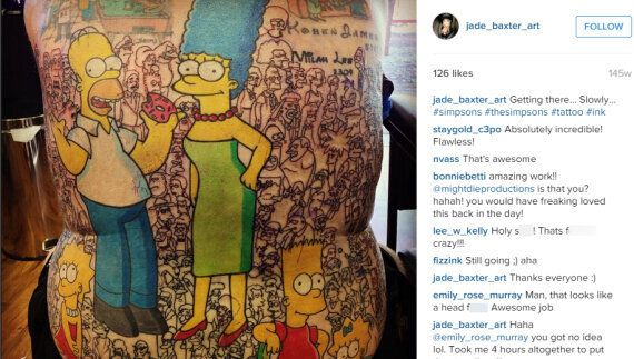 Australian Man Gets World Record For 'Simpsons'