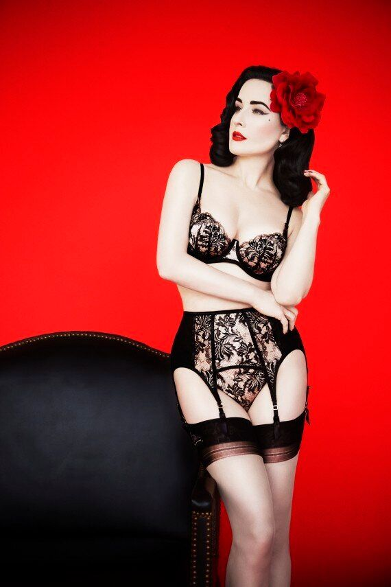 Dita Von Teese Says We Should Be Thinking Twice About That Waist Training