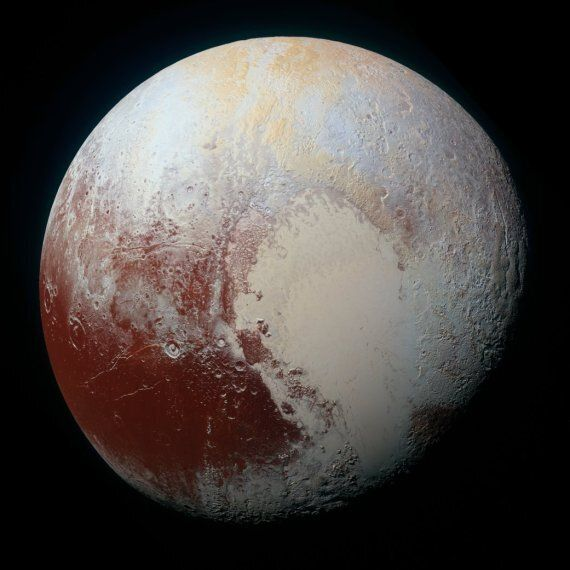 New 'Dragon-Scale' Pluto Images From New Horizons Telescope Stun