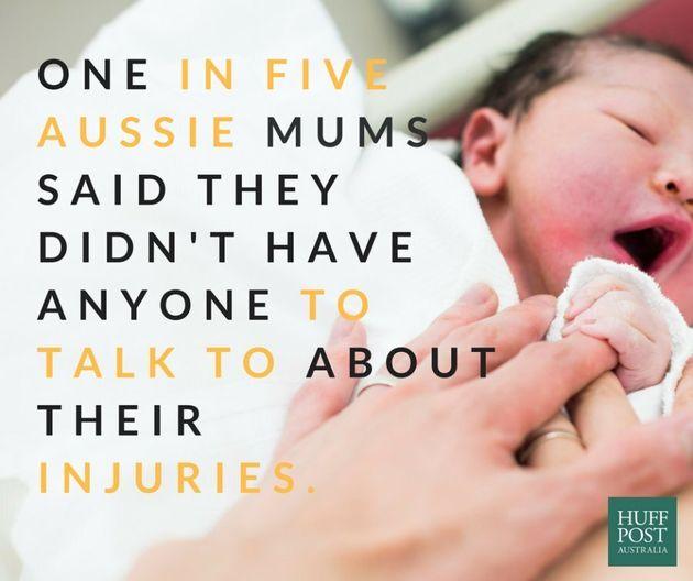 Three In Four Aussie Women Suffer Child-Birth Related
