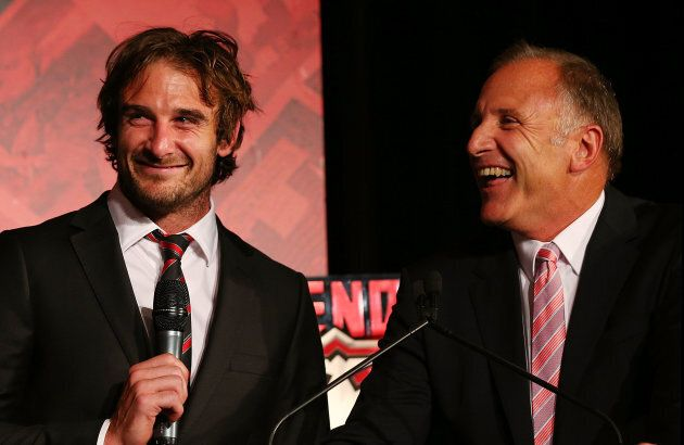 Essendon Champ Jobe Watson Announces Retirement With A Poignant Relationship