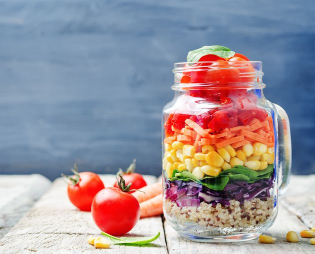 Eating lots of veggies and whole grains help keep your gut healthy and your bowel movements