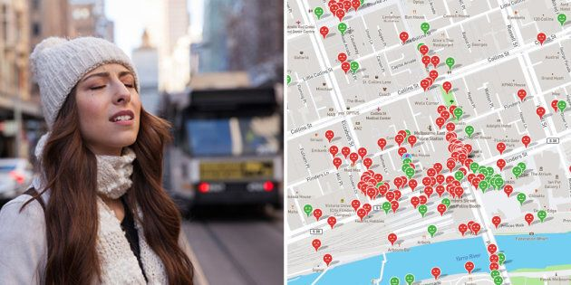 New App Shows Melbourne Women Are Being Harassed On Public