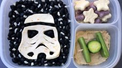 Dad Makes Awesome Star Wars-Themed Lunches For His