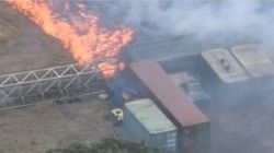 Homes Lost As Fires Blaze Near Melbourne's
