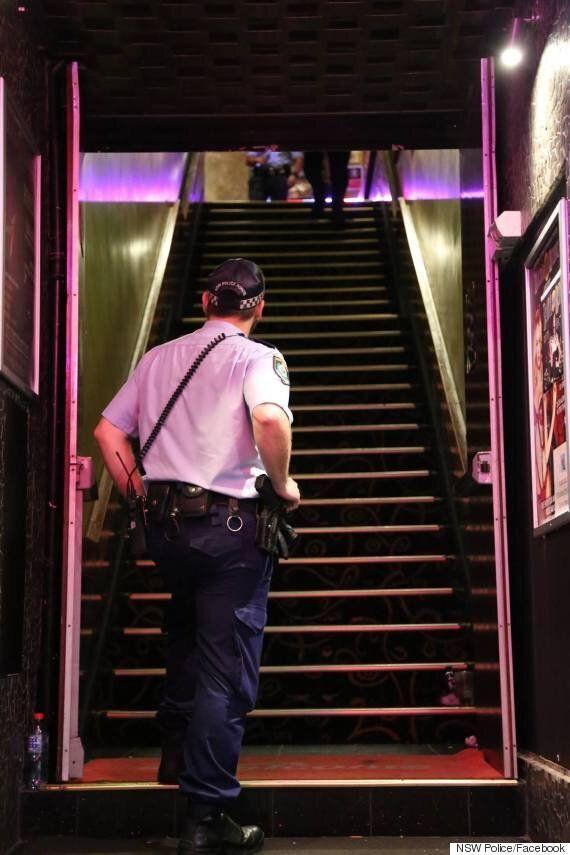 Notorious Sydney Strip Clubs Raided, Three Arrests