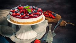 Try This Easy, Fail-Proof Strawberry Cheesecake