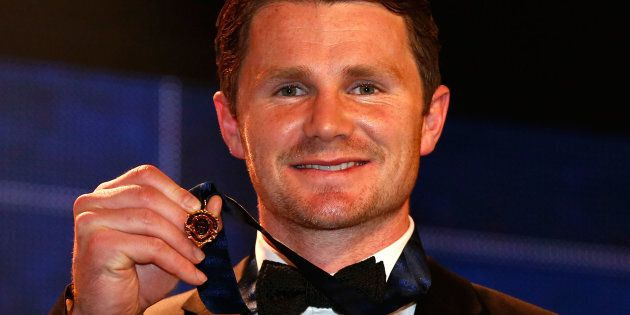 Last year's Brownlow winner Patrick Dangerfield is ineligible in this year's count following a one-week...