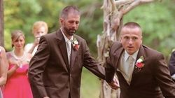 Bride's Dad Stops Wedding So Stepdad Can Walk Down The Aisle