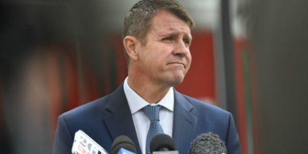 Mike Baird has been under increasing pressure over a number of issues in recent