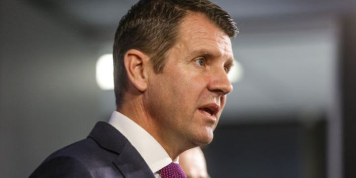 NSW Premier Mike Baird if facing increasing internal and external pressure over a number of policy decisions.