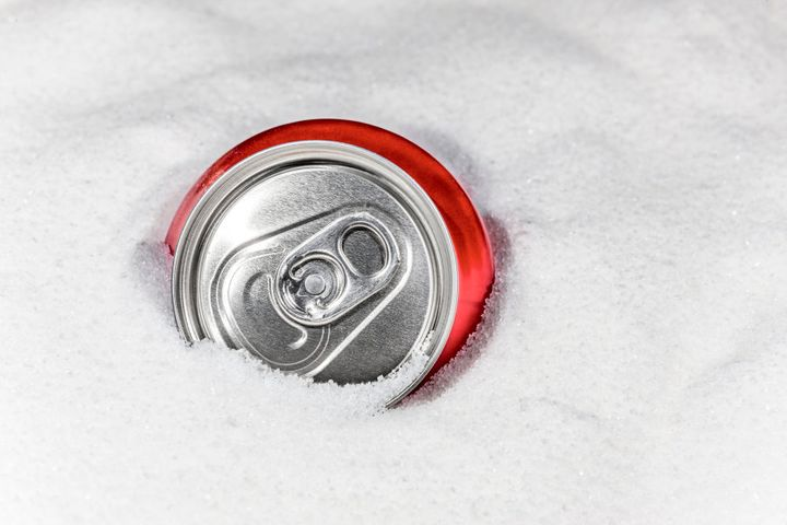 Energy drinks contain the same amount of sugar as soft drinks, if not more.
