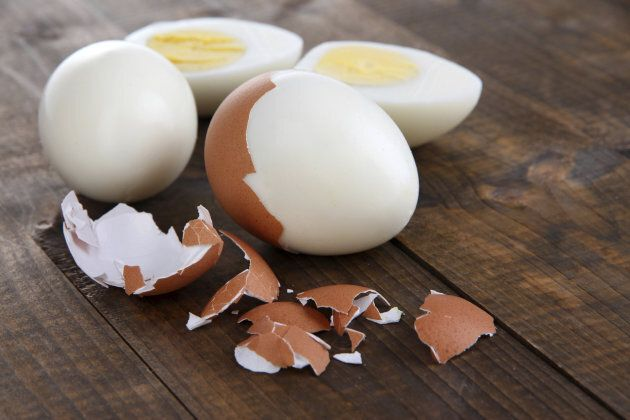 They might be a pain to peel, but the healthiest way to eat an egg is to boil it.