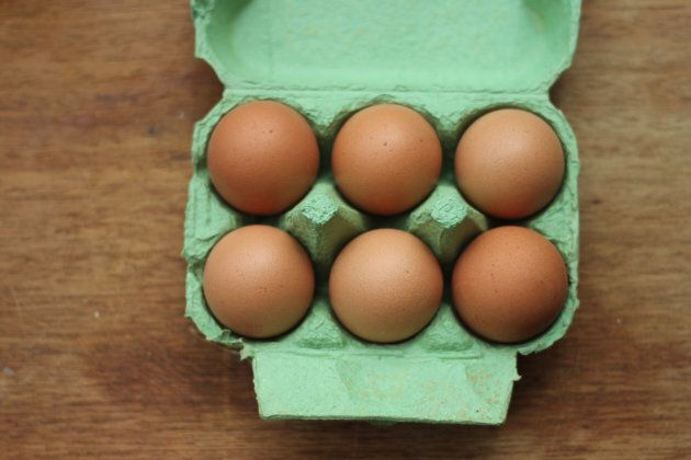 McGrice recommends six eggs a week as part of a healthy