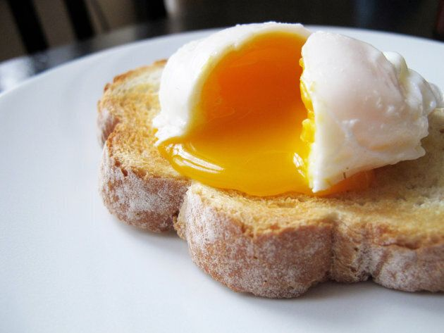 That delicious gooey yolk isn't bad for