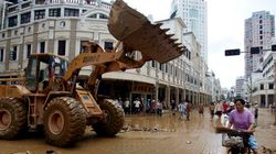 Construction Clash: Bulldozers Fight On Chinese