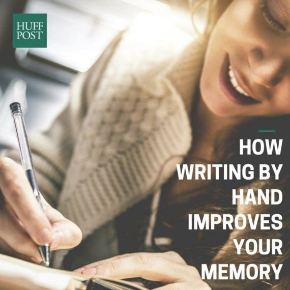 Writing By Hand Improves Your Memory, Experts