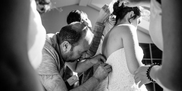 Syrian Refugee Saves The Day After Ontario Bride's