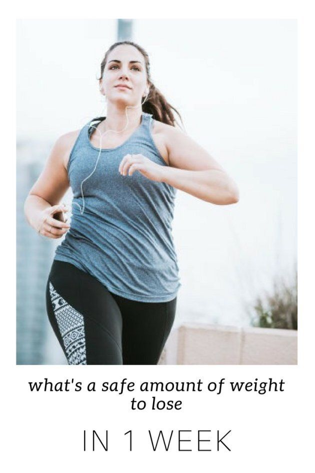 What S A Safe Amount Of Weight To Lose In A Week Huffpost Australia