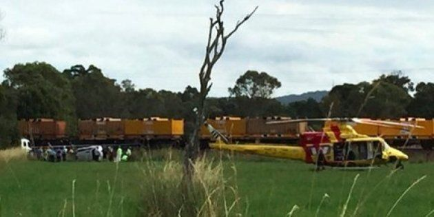 Four Injured After Train Collides With Car in NSW Mid North