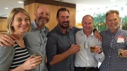 Cheer And Beer As 60 Minutes Crew Arrives Home To Face Internal