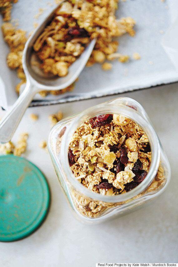 DIY Gourmet Recipes: Maple Peanut Butter, Granola And