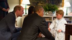 President Obama Met Prince George And It Was The