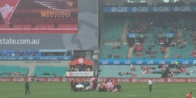 Paratrooper Crashes In SCG Ahead Of Swans Versus Eagles