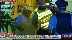 Elderly Sydney Couple Escape Uninjured After Their Front Door Was Set On