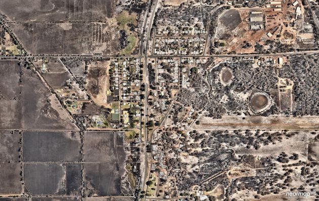 Incredible Photos Reveal Damage Of Devastating Fires In Western
